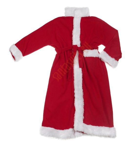 fleece santa suit with coat full set 12 parts plus 4. Black Bedroom Furniture Sets. Home Design Ideas