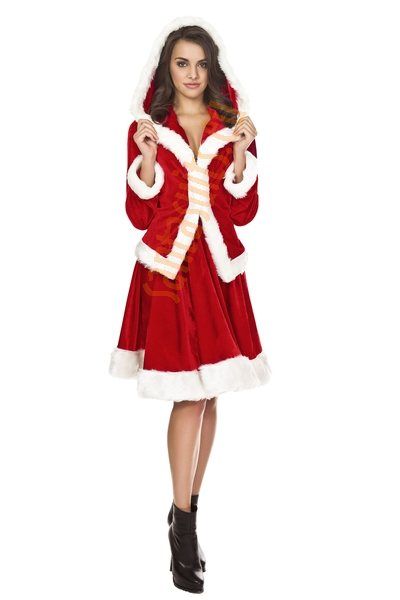 Miss Santa suit - Jingle model