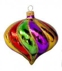 Spinning top ornament
