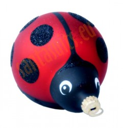 Red ladybird ornament