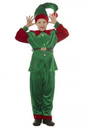 Boy's elf costume