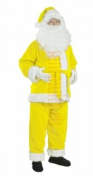 lemon Santa suit - jacket, trousers and hat