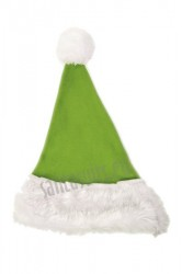 Light olive Santa's hat for children