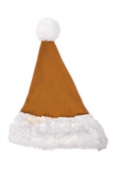 light brown Santa's hat for children
