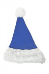 blue Santa's hat for children