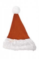brown Santa's hat for children