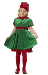 Girl's elf costume
