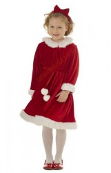 Miss Santa suit for girls