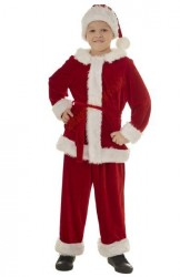 Santa suit for boys