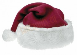 royla purple Santa's hat