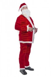 disposable Santa suit