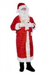 Santa suit - coat, hat