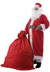 Santa suit with coat - belt
