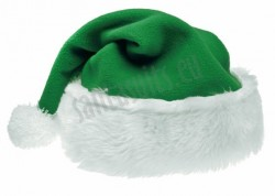 leaf green Santa's hat